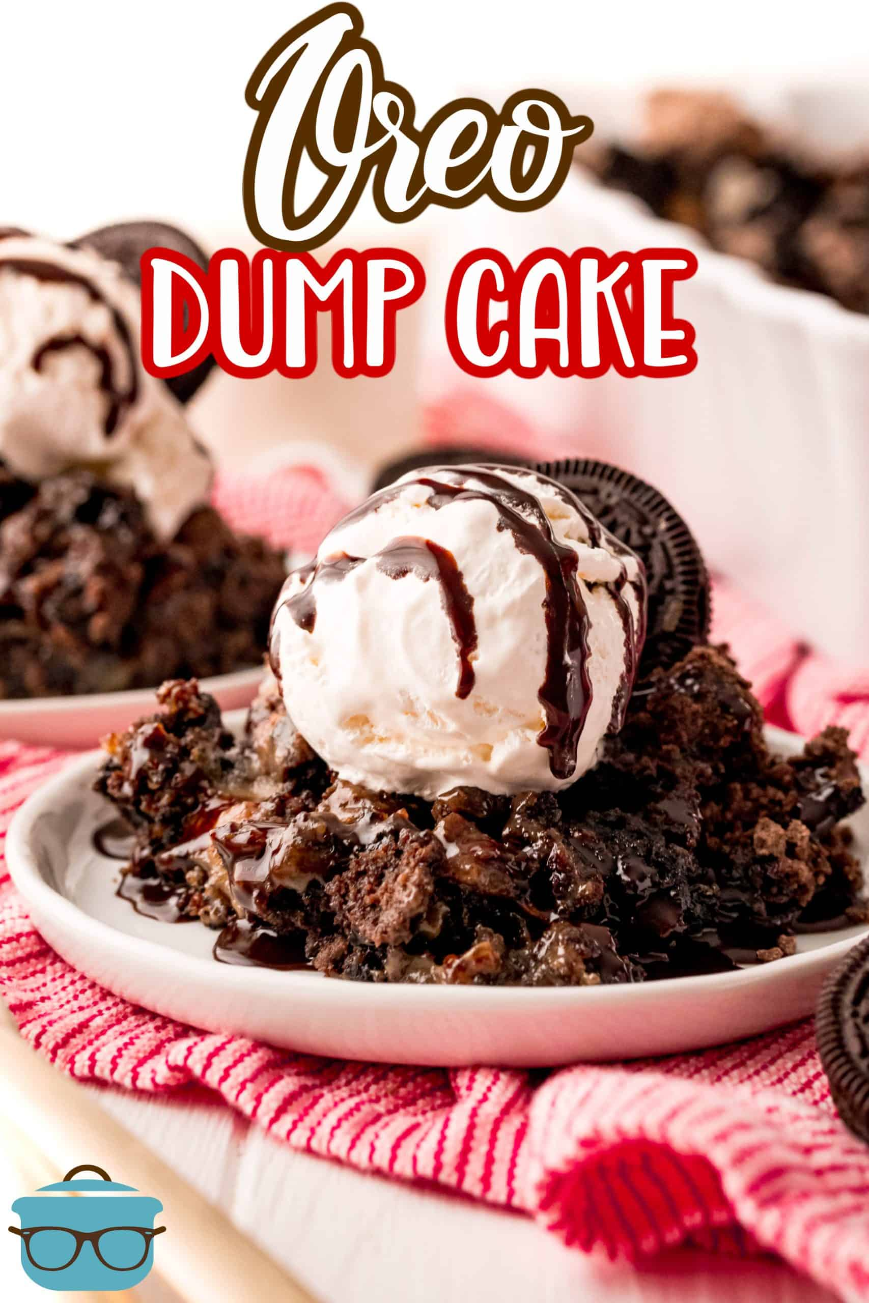 You are going to get hooked on this Oreo Dump Cake! It is all made in just one dish using just a few delicious ingredients. Tasty, rich and chocolatey!
