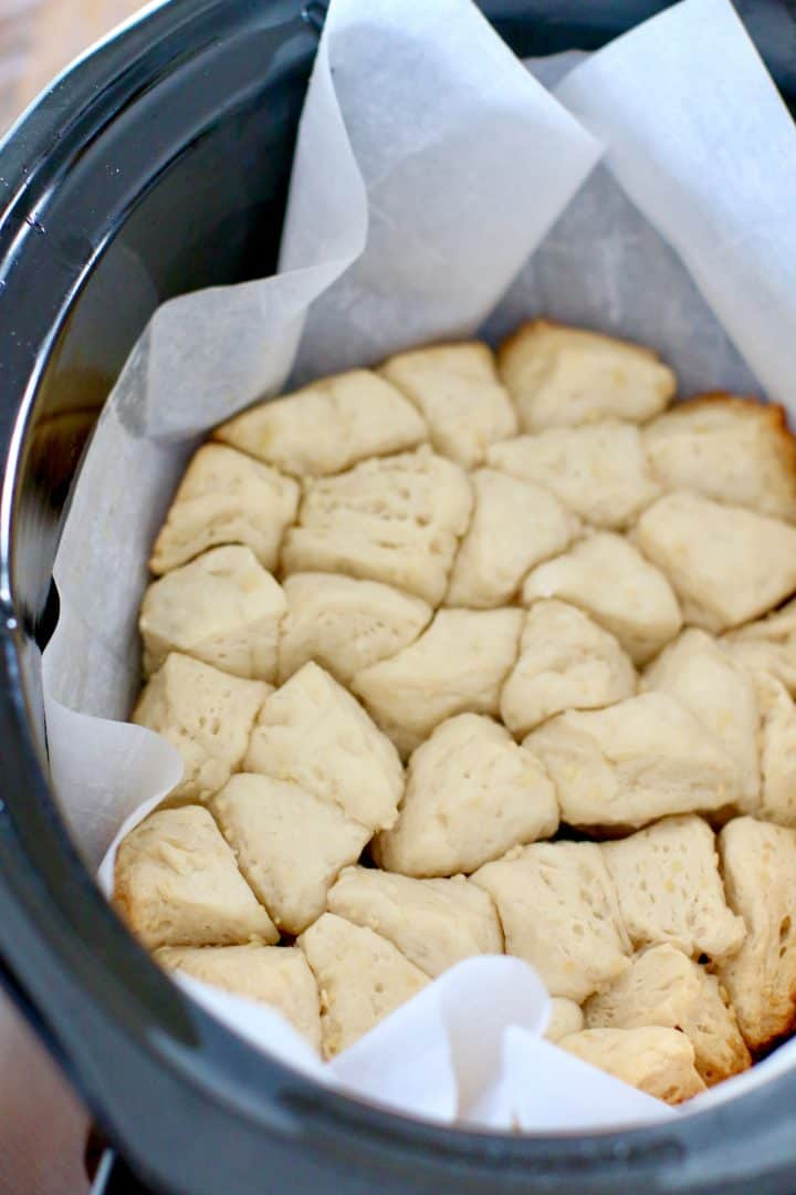 ully baked biscuits in a crock pot